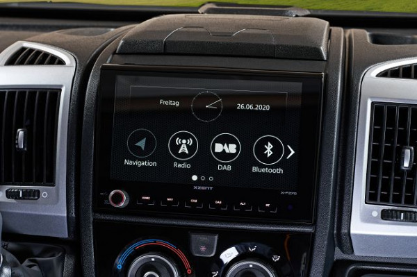 XZent X-F220 navigation device (with navigation map)