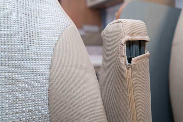 Protective covers for cab seats MY 2010-2017