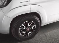 """Alufelgenkit Fiat original Felge 16"""" X 6 J, ET 68 Light-Chassis, LK 118"""