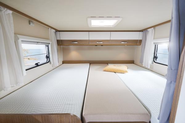 Beige Spannbettlaken Mittelteile SA Doppelbett