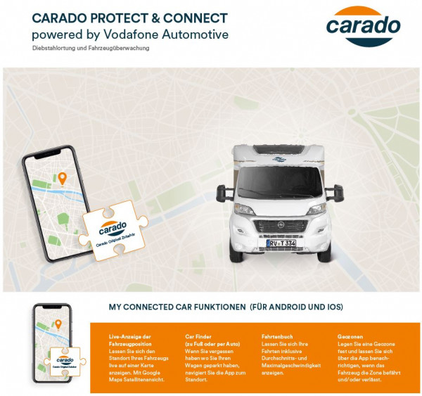 Protect & Connect powered by Vodafone Automotive