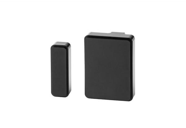 Radio magnetic contact, black, for Carado alarm system