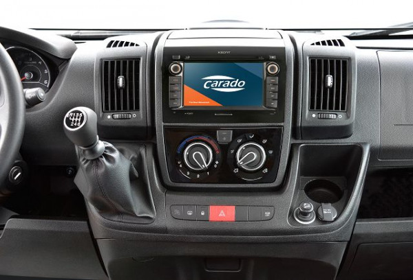 Multimedia package Low-profile/Coach-built/Integrated with reversing camera (double)